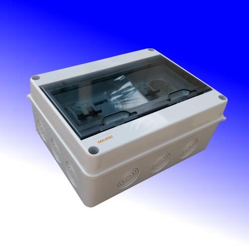 PV- verdeler 2x16A met kWh meter