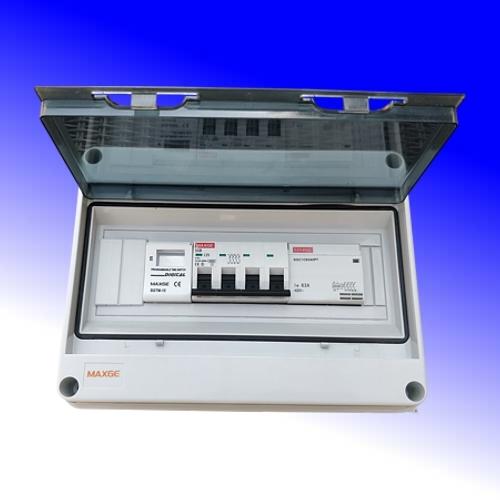 Schakelkast met digitale klok 32A-380Vac