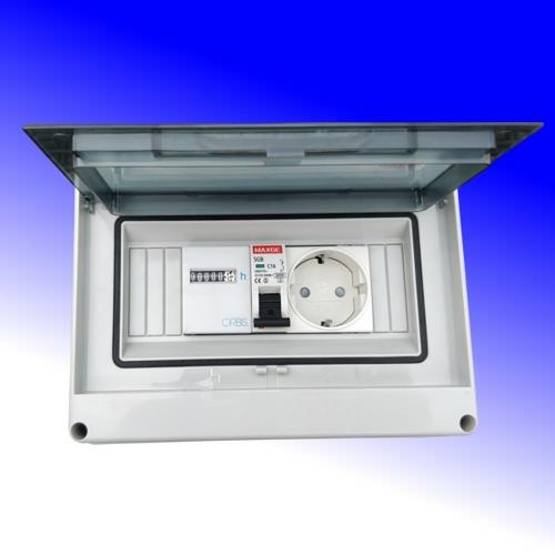 kWh meter in DIN kast