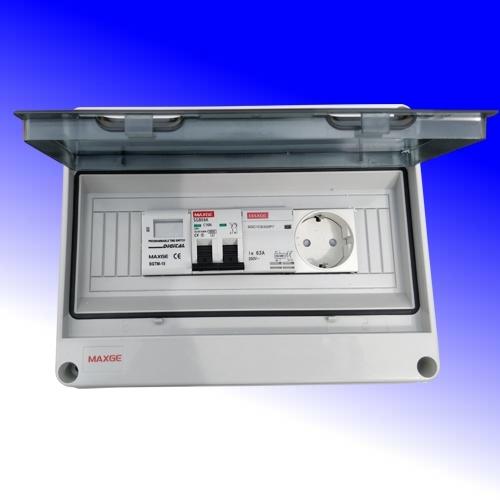 Schakelkast met digitale klok 16A-230Vac