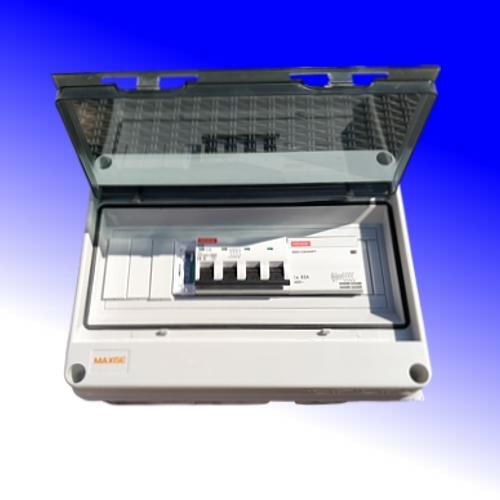 Schakelkast met analoge klok 32A-380Vac