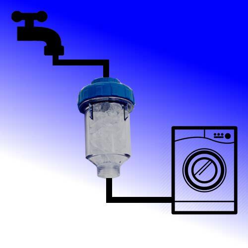 Anti-kalk-wasmaschine